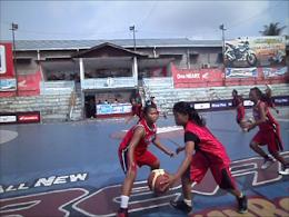 O2SN SMK Riau 2013 Basket Putri