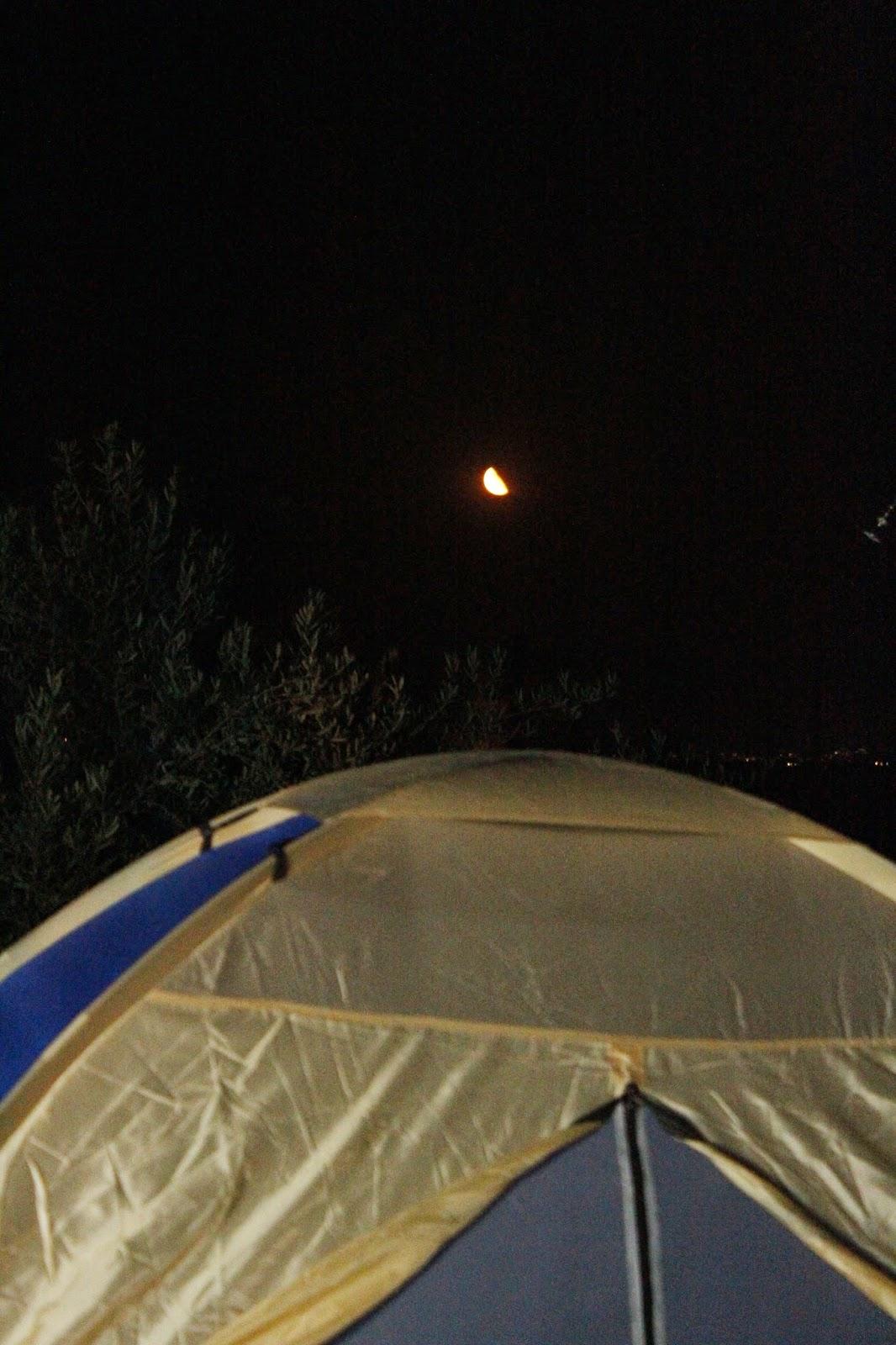 il loro primo campeggio