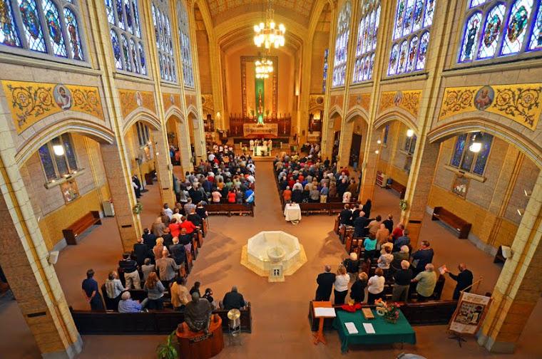 Interior of STA Church