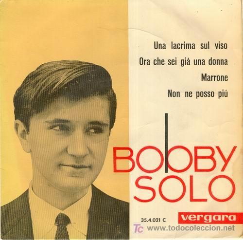 Bobby Solo - Una Lágrima En Tu Rostro