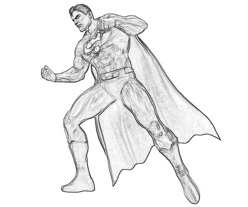 injustice-gods-among-us-superman-power-coloring-pages