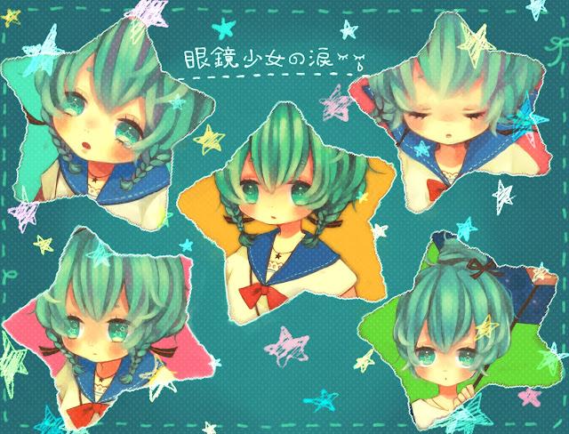 Hatsune Miku,anime girl,adorable