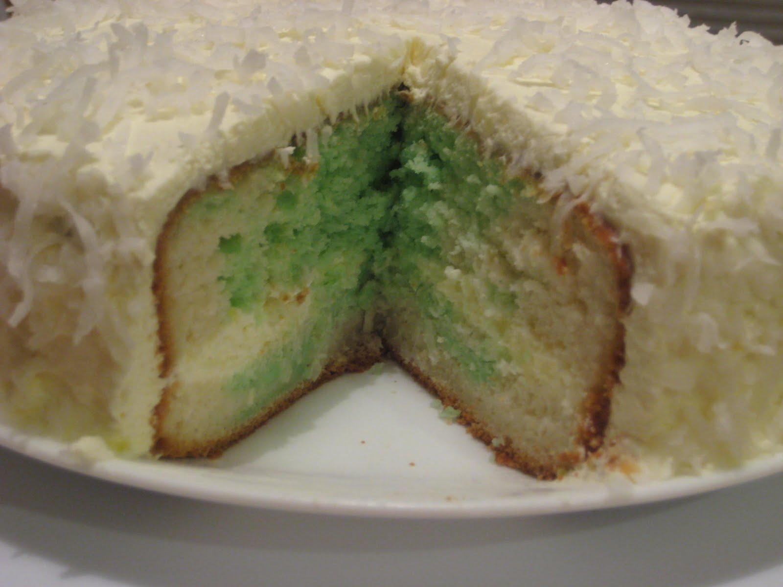 Gim S Delish Delights Coconut Pandan Marble Cake