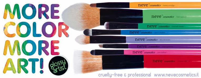 Neve Cosmetics - 8 nuovi pennelli Glossy Artist