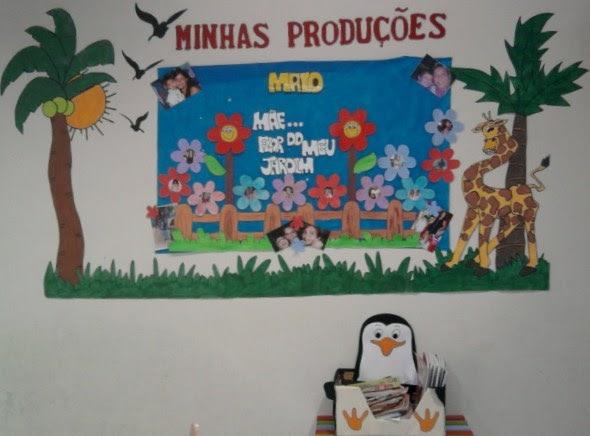 ! Educação infantil decoração da sala de aula Tema madagascar