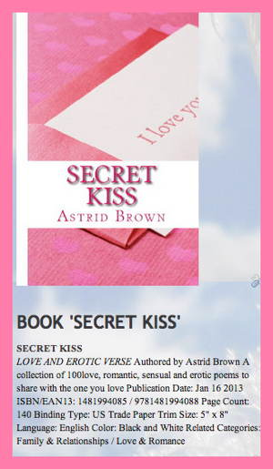 BOOK 'SECRET KISS'