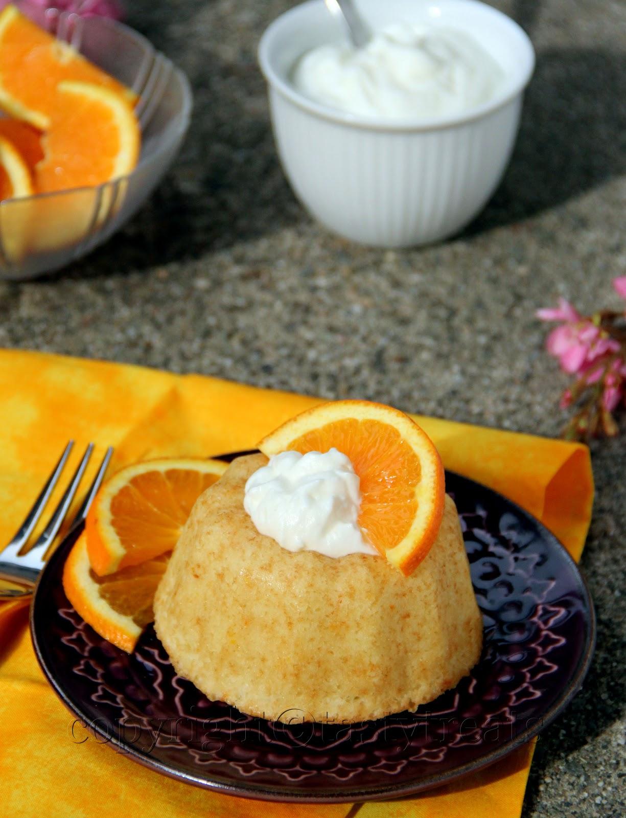 Tasty Treats: Orange Whipped Cream Cake