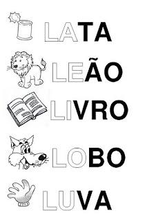 """SILABÁRIO ALFABETO ILUSTRADO """"A"""" a """"Z"""" ATIVIDADES LETRAS ANIMAIS E"""