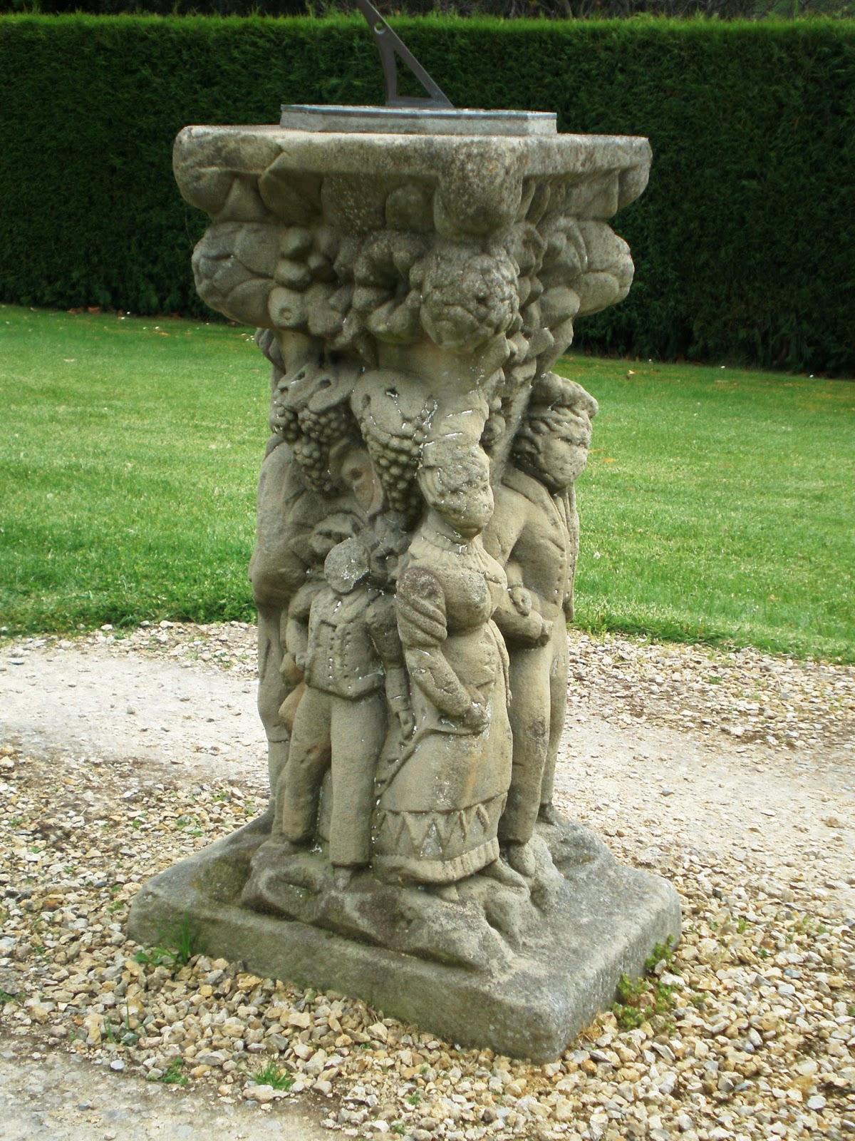 stone roman shop s sun sundial aged dial pedestal garden brass