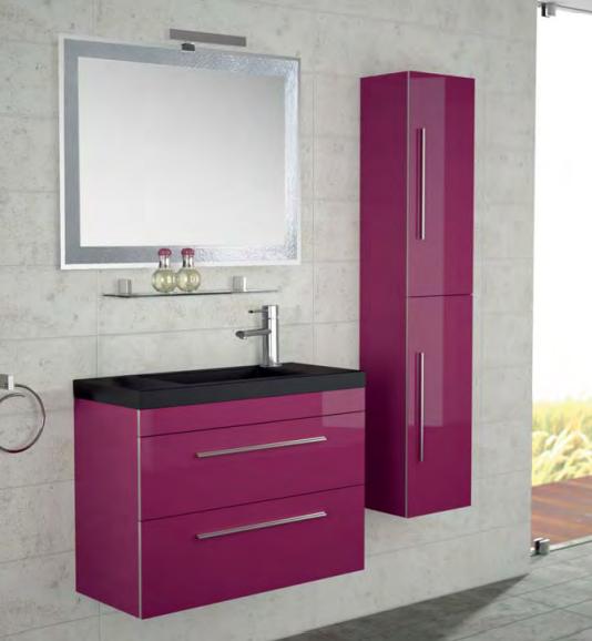 Lavabos Para Baño Cancun:Con un fondo de solo 36 cm, es un mueble de baño ideal para baños