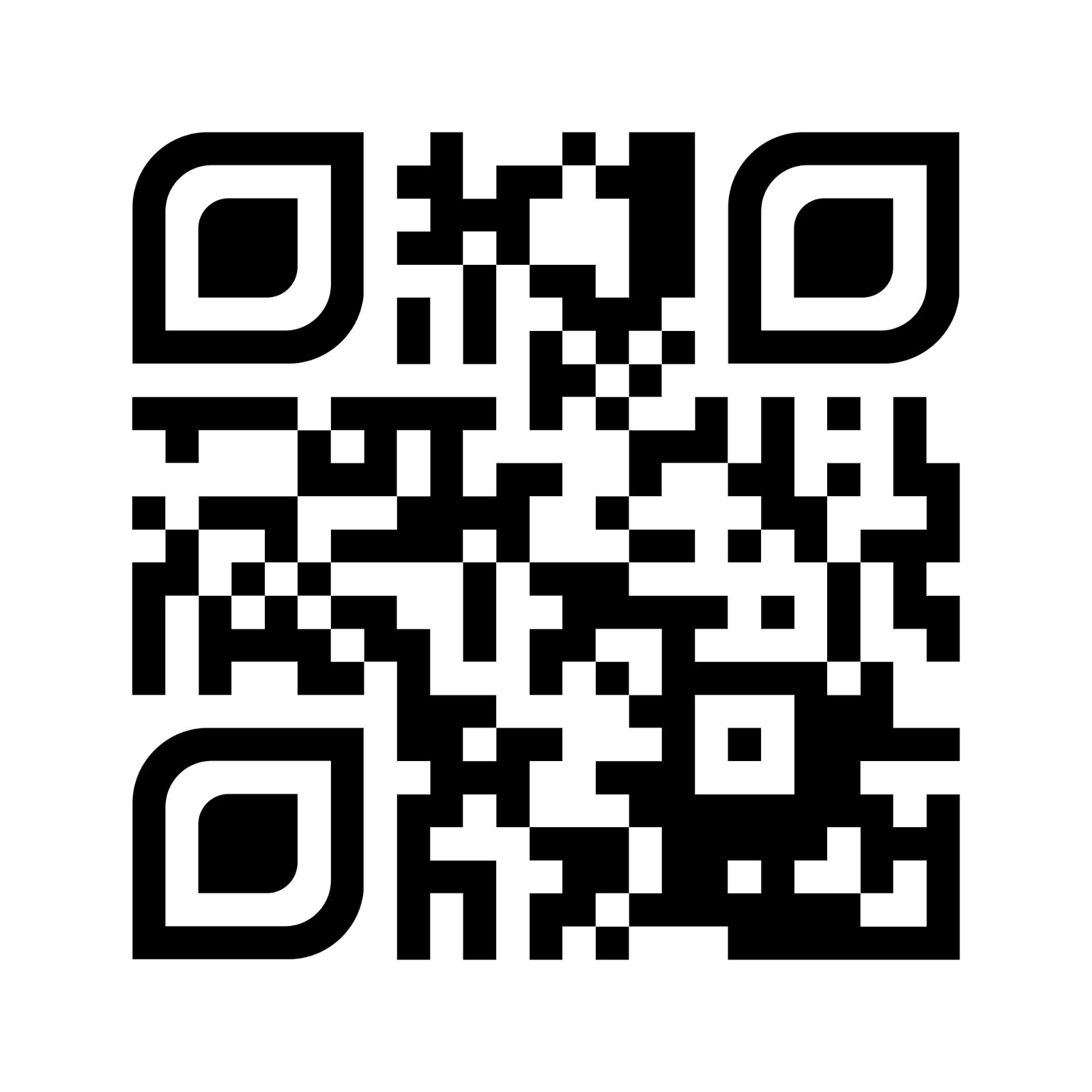 Código QR del blog de EF del CEIP San Andrés