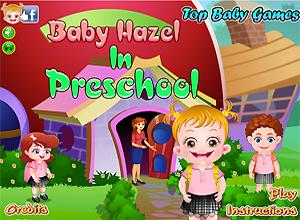 Baby Hazel no jardim-de-infância