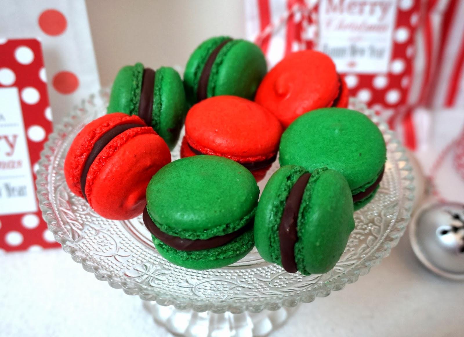 weihnachts macarons gewinnerin nikolaus giveaway