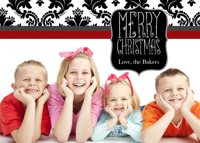 The cutest blog on the block custom christmas cards for Best personalized christmas cards