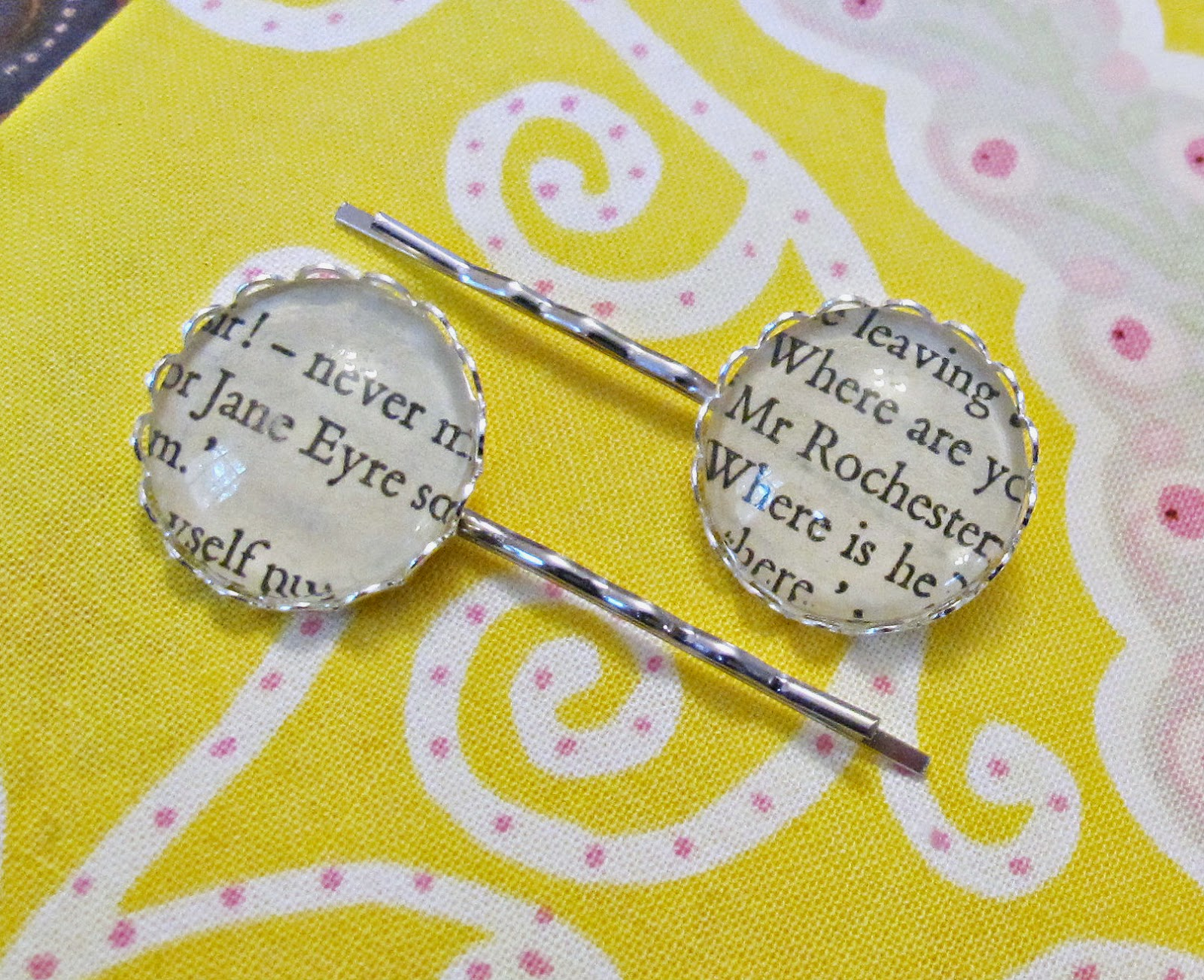 image jane eyre bobby pin set hair mr rochester charlotte bronte silver bridal wedding two cheeky monkeys accessories