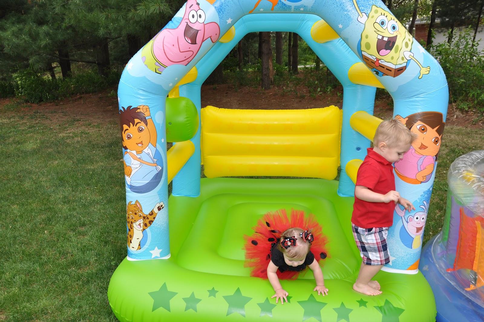 Sutherlands 2008 2012 Whitneys Ladybug Birthday Party