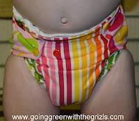 cloth diaper fit