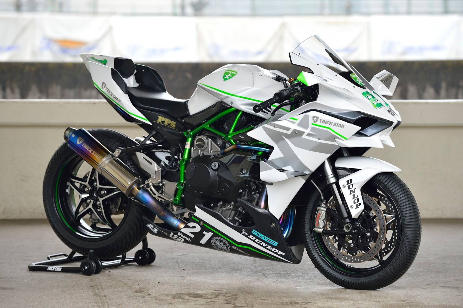 Planet Japan Blog Kawasaki Ninja H2r By Trickstar