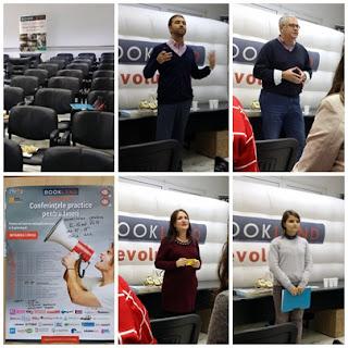 Conferintele practice pentru tineri BookLand evolution Craiova - ziua2
