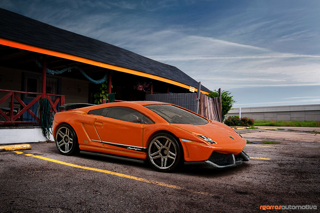 el arte del photoshop lamborghini gallardo hot wheels. Black Bedroom Furniture Sets. Home Design Ideas
