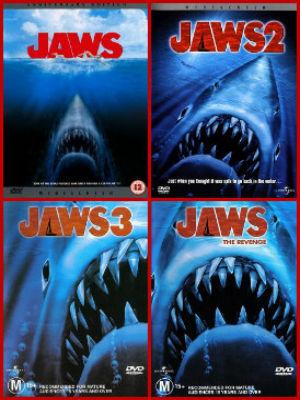 Filme poster Quadrilogia Tubarão DVDRip XviD Dual Audio