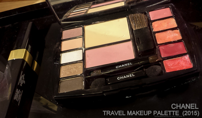 Chanel Travel Makeup Palette 2015 Swatches