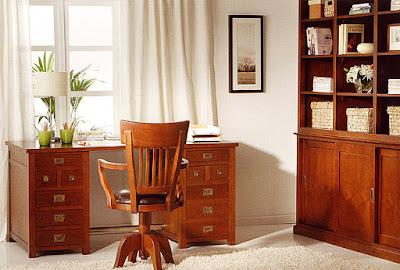 Un despacho en el dormitorio for Muebles despacho baratos