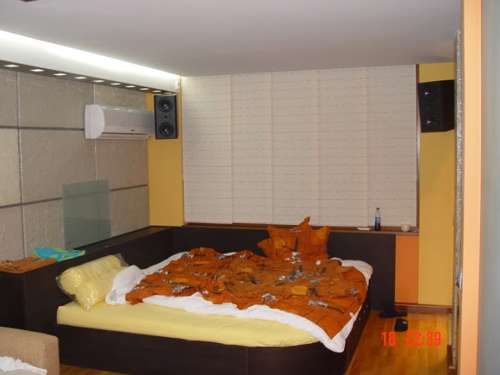 Нестандартна спалня 2,40 на 2,40