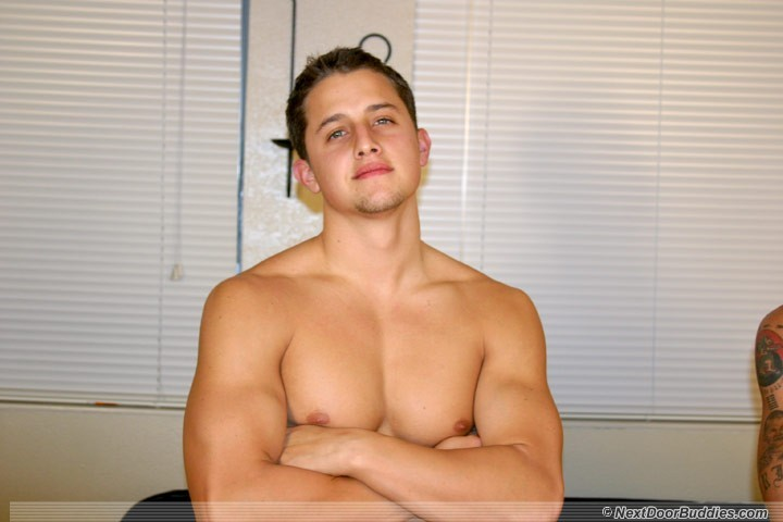 shaved gay male