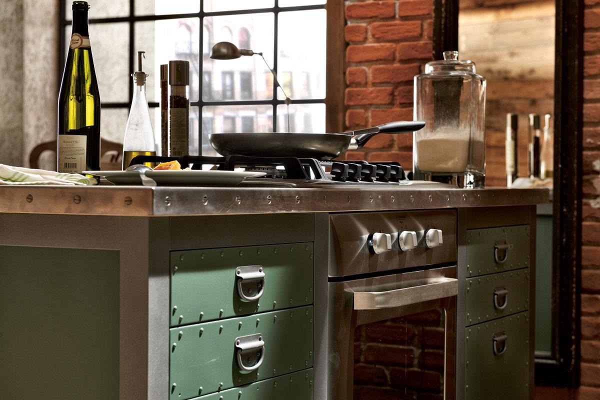 deco una de cocinas vintage industrial virlova style. Black Bedroom Furniture Sets. Home Design Ideas