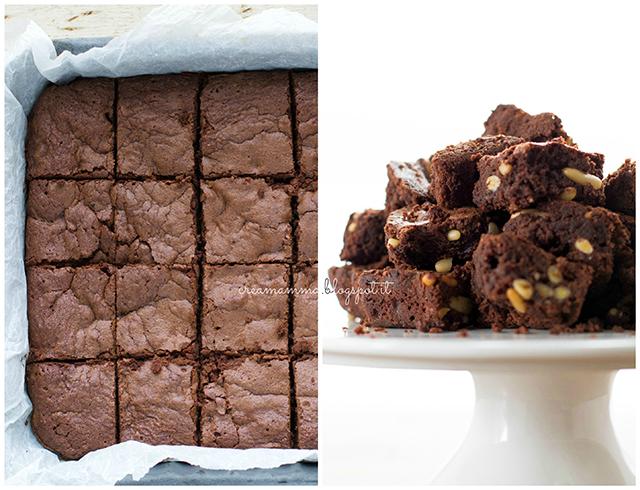 cioccolato farina di castagne e pinoli