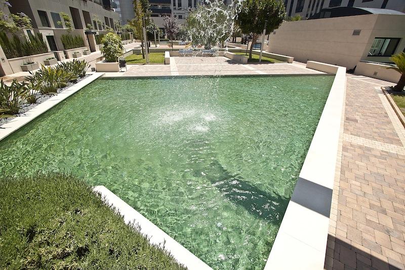 Colores de agua para piscinas lucas gunitec - Gresite piscinas colores ...