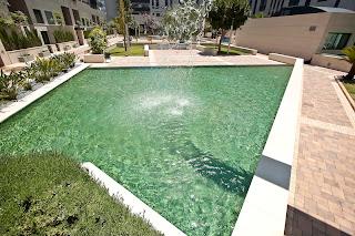 piscina+gresite+color+verde Colores de agua de piscina.