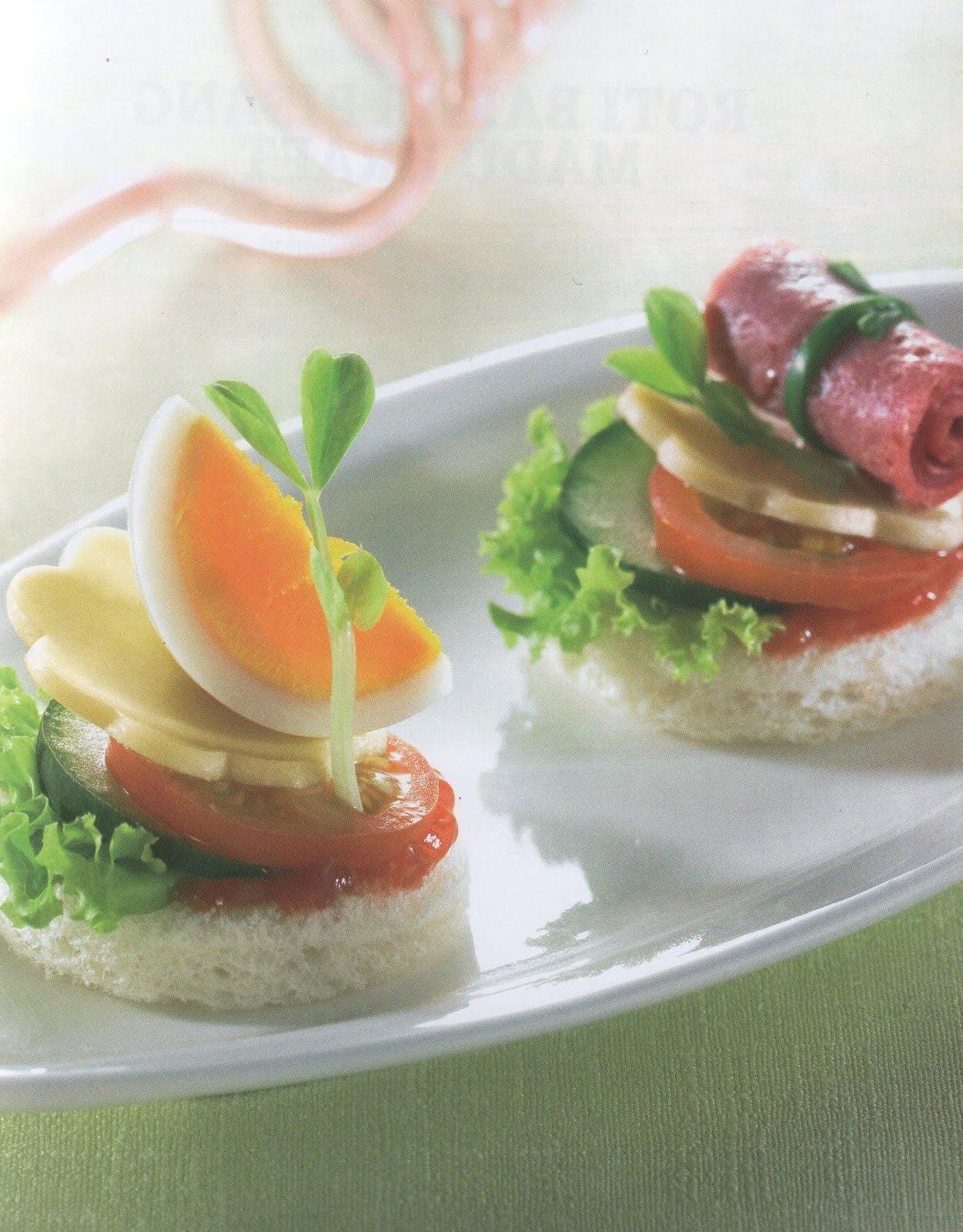 Resep masakan indonesia roti canape savory kraft for Resep canape kontinental