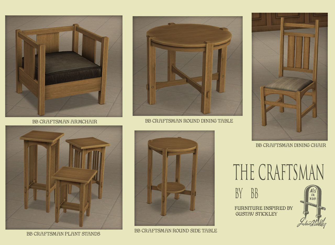 buggys retreat craftsman stool and table set allocine