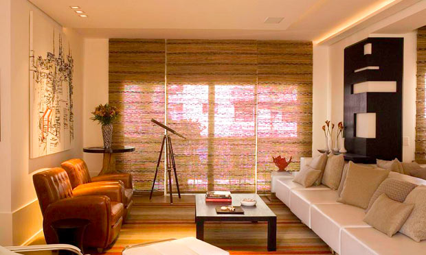 Cortinas e persianas virtual decora es for Cortinas para departamentos pequenos