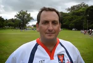 Javier Cerúsico, Presidente de Católica Vaqueros Rugby Club