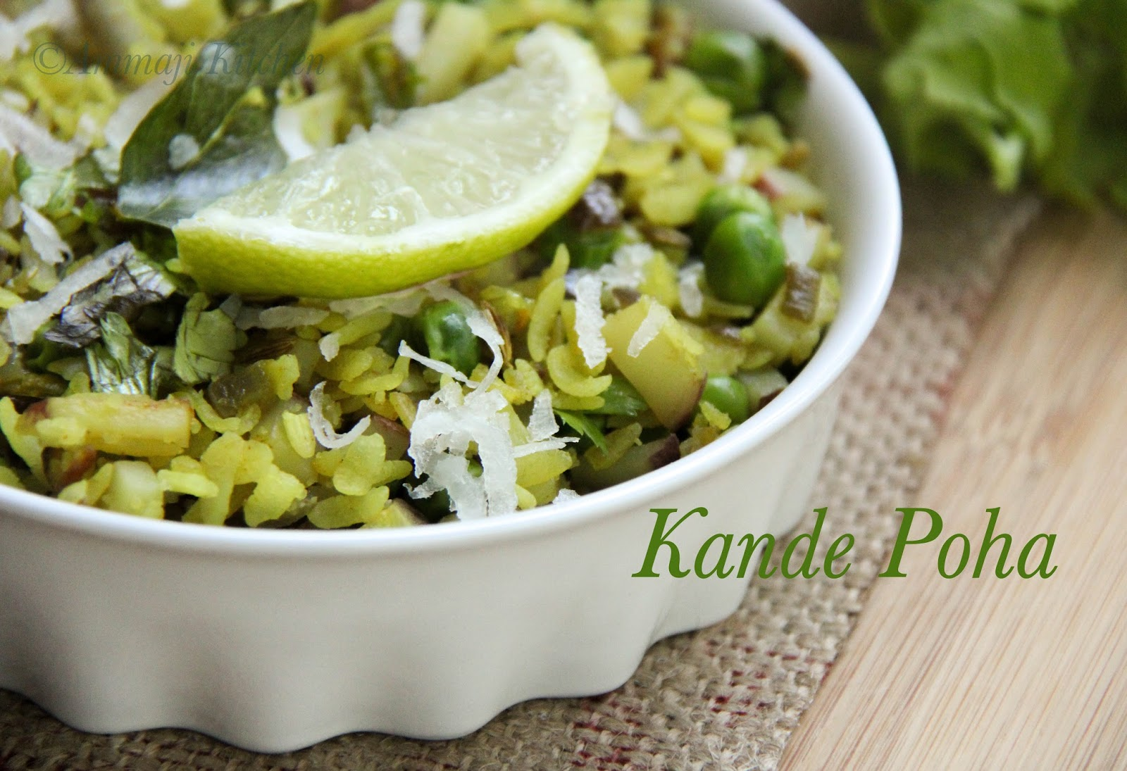 Kande poha version 2 indian food recipes ammaji kitchen kande poha forumfinder Gallery