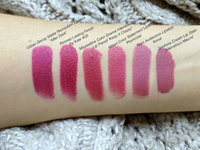 Autumnal lipsticks #TuesdayTakeover | Dagmara - Mummy's Beauty Corner