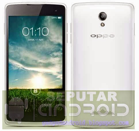 Cara Flash Oppo R2001