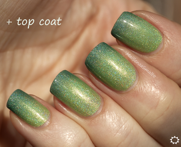 Liquid Sky Lacquer Margaritaville + top coat