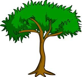desenho, árvore, ilustrada, ilustração