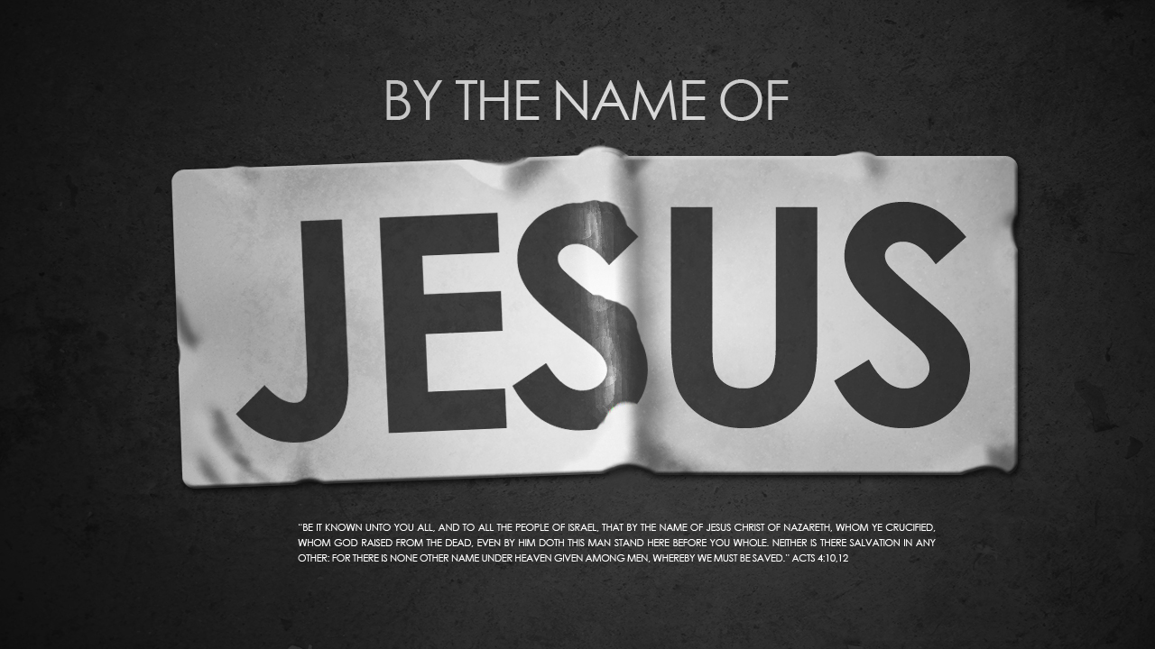 Jesus Christ Our Example