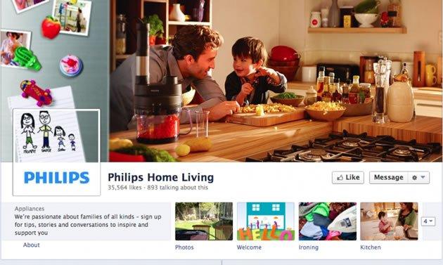capas criativas para Facebook