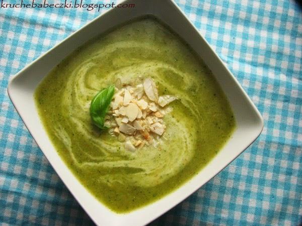 Krem brokułowo-bazyliowy :)
