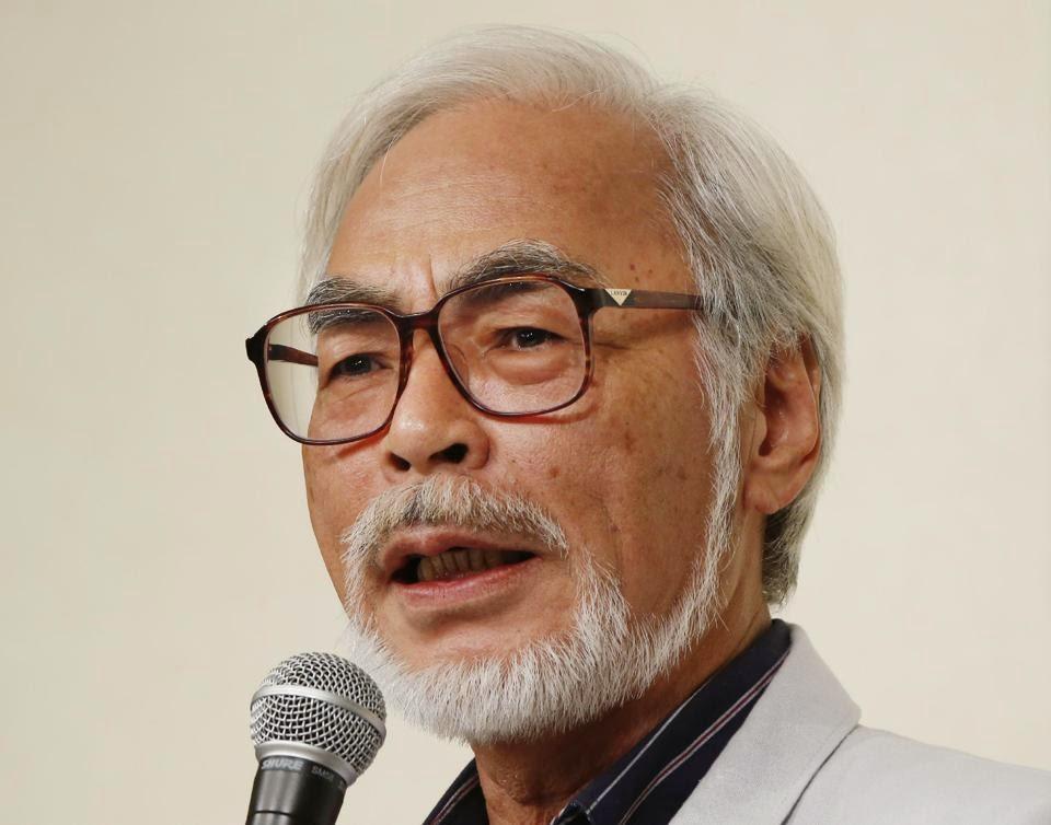 HAYAO MIYAZAKI E LO STUDIO GHIBLI CON LA PRINCIPESSA SPLENDENTE AGLI OSCAR 2015