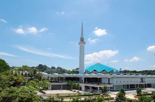 المسجد الوطنى الماليزى