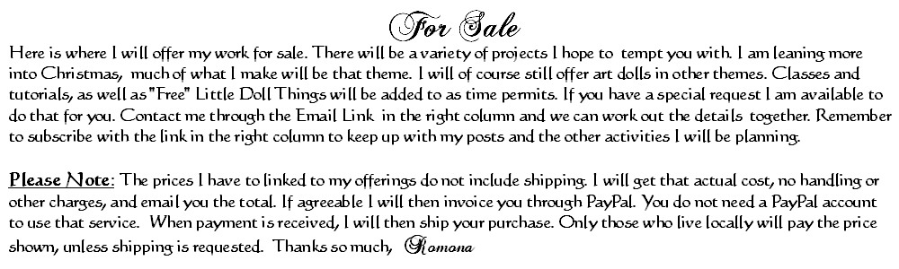 Selling Notice