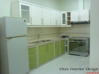 kitchen set, kitchen set murah, finishing duco, kitchen model L, kitchen set modern