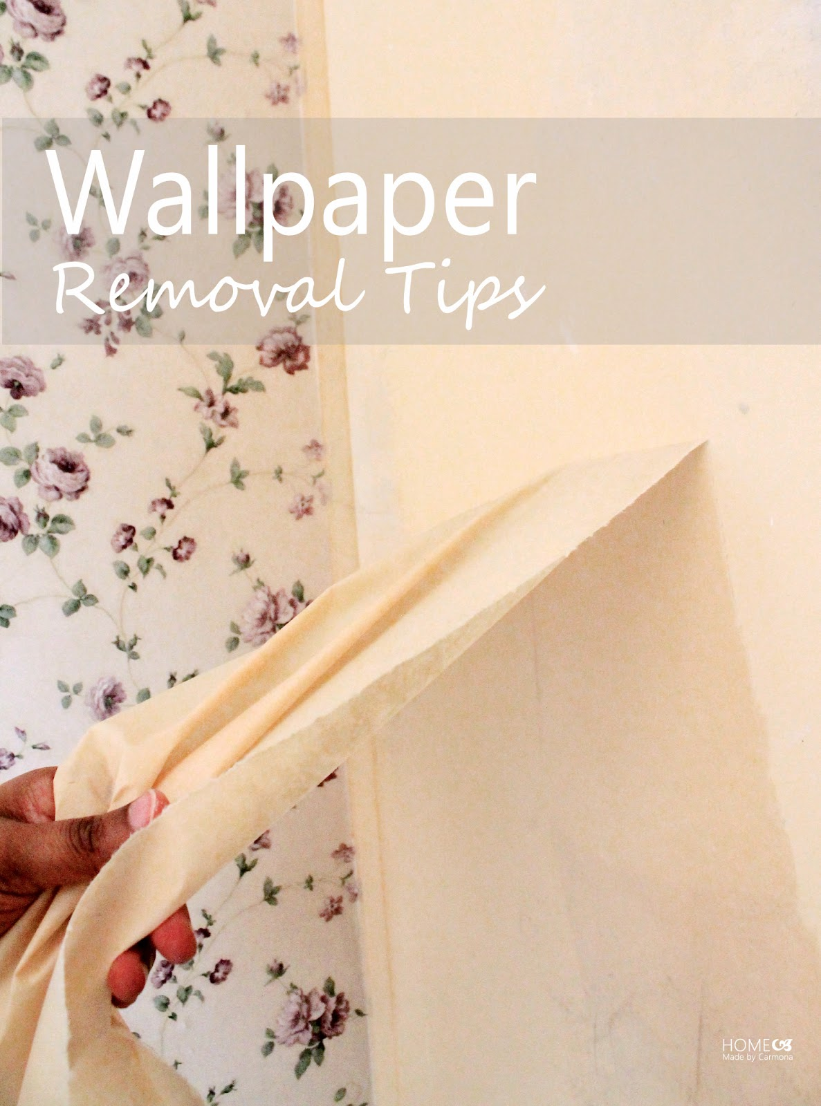 Wallpaper Removal Tips